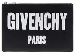 Givenchy Paris Printed Medium Pouch