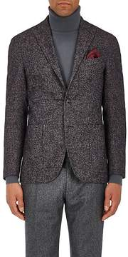 Boglioli Men's Checked Alpaca-Blend Bouclé Three-Button Sportcoat
