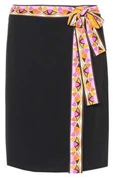 Emilio Pucci Jersey skirt