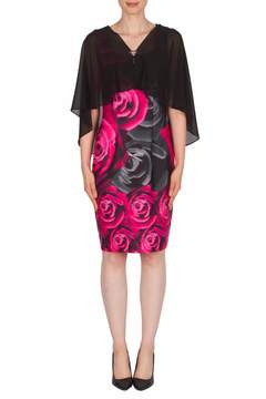 Joseph Ribkoff Shrug Overlay Dress