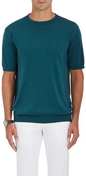John Smedley Men's Belden Fine-Gauge Knit Sea Island Cotton T-Shirt