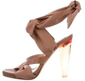 Derek Lam Wrap-Around Woven Sandals