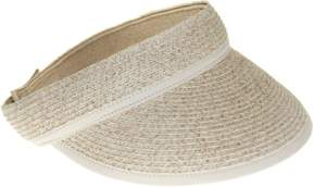 Nine West Womens Paper Braid Visor