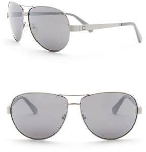 GUESS 67mm Aviator Sunglasses