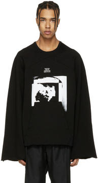 Julius Black Wide Arms Pullover