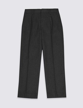 Marks and Spencer Boys' Trousers with SupercreaseTM