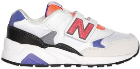 New Balance 580 Suede & Mesh Sneakers