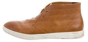 Giorgio Armani Woven Chukka Sneakers