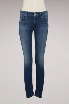 Mother The Looker Skinny Mid Rise Jeans