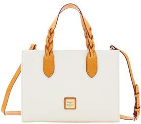 Dooney & Bourke Eva Braid Gia Satchel - WHITE - STYLE
