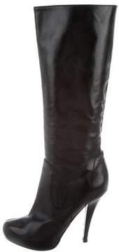 Alejandro Ingelmo Leather Platform Boots
