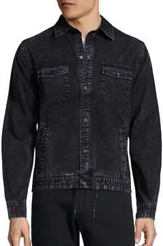 Madison Supply Men's Long Sleeve Denim Jacket