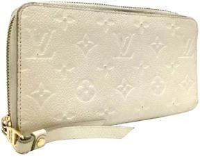 Louis Vuitton Zippy patent leather wallet - WHITE - STYLE