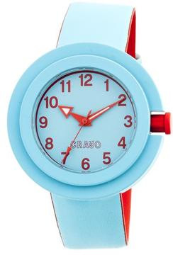 Crayo Equinox Collection CRACR2805 Unisex Watch with Rubber Strap