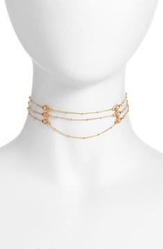 Ettika Women's Layered Chain Choker