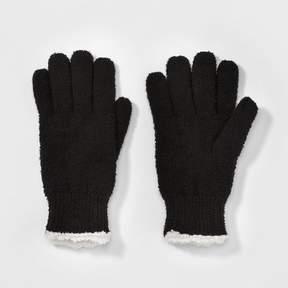 Isotoner Women's Mixed Acrylic Knit Glove - Black