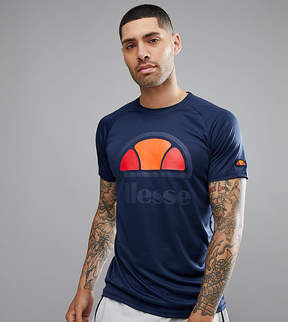 Ellesse Sport T-Shirt With Logo In Navy