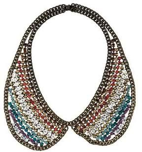 Dannijo Hilaria Crystal Collar Necklace
