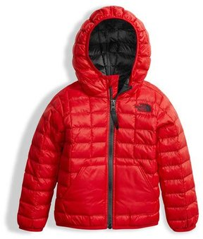 The North Face ThermoBall Hooded Jacket, Red, Size 2-4T