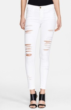 Frame Women's Le Color Rip Skinny Jeans