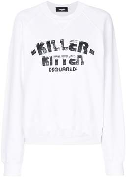 DSQUARED2 Killer Kitten sweatshirt