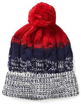 Gap Stripe cable-knit hat