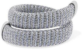 Carolina Bucci Caro White Gold-plated And Lurex Bracelet