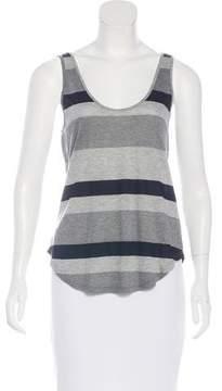 Enza Costa Sleeveless Striped Top