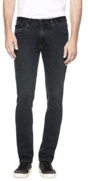 Paige Lennox Washed Skinny Jeans