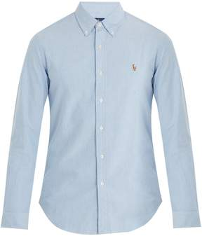 Polo Ralph Lauren Logo-embroidered single-cuff cotton shirt