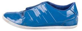 Y-3 Patent Leather Low-Top Sneakers