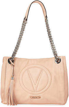 Mario Valentino Valentino By Luisa 2 Sauvage Leather Chain Shoulder Bag