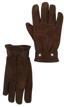 UGG Leather Faux Fur Randel Gloves