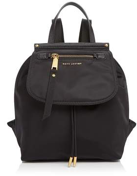 Marc Jacobs Trooper Nylon Backpack - BLACK/GOLD - STYLE