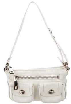 Marc Jacobs Mini Leather Shoulder Bag - NEUTRALS - STYLE