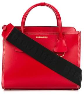 DSQUARED2 Women's Red Leather Handbag.