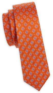 Michael Kors Boy's Flower Silk Tie