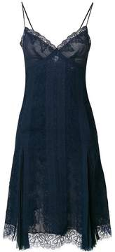 Ermanno Scervino flared fitted dress
