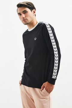 Fred Perry Ringer Long Sleeve Tee
