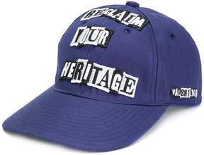 Valentino patchwork cap