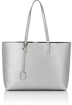 Saint Laurent Women's Shopping Tote Bag - SILVER - STYLE