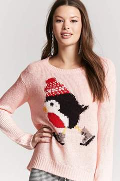 Forever 21 Penguin Graphic Sweater