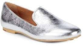 Gentle Souls Eugene Metallic Leather Loafers