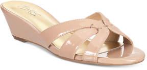Thalia Sodi Ronie Slide Wedge Sandals, Created for Macy's Women's Shoes