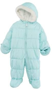 Carter's Infant Girls Mint Green Polka Dot Snowsuit Baby Pram Snow Suit 6-9m