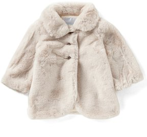 Edgehill Collection Baby Girl 12-24M Faux Fur Coat
