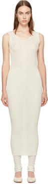 LAUREN MANOOGIAN Ivory Accordion Dress