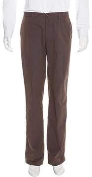 Dries Van Noten Flat Front Woven Pants