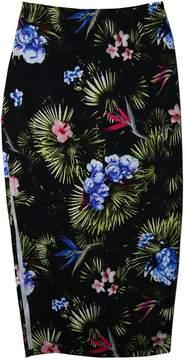 Fleur Du Mal High Slit Knit Skirt