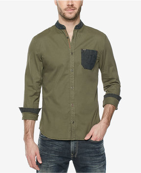 Buffalo David Bitton Men's Contrast-Trim Shirt